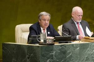 u.n. chief speaks out in support of iraq against isis