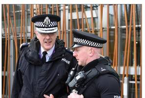 'Arming cops would be a greater threat to public' warns Scotland's chief constable