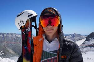 fitness is the key to achieving david's winter olympic dream