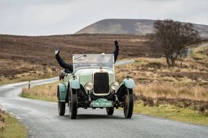 flying scotsman rally - a vintage spectacle