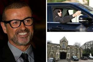 George Michael laid to rest three months on - but his long-term partner Fadi Fawaz was 'not on the list' for the star's wake