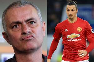 manchester united boss jose mourinho says he won't stand in zlatan ibrahimovic's way if he decides to leave old trafford