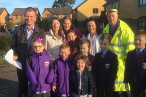 Save our lollipop man: East Kilbride parents fight to keep popular Jim after cuts