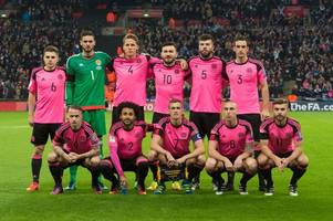scotland stars facing another pink kit nightmare when england come to town