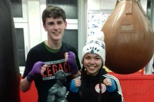 Shotts boxers Reece and Shaira to represent Scotland at GB Championships