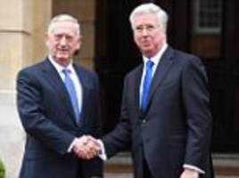 mattis: britain's global leadership role is as crucial