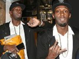 usain bolt makes 4am return to london hotel after clubbing