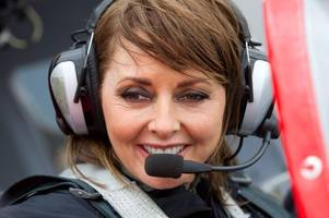 carol vorderman gives up dream flight to take care of mum diagnosed with cancer