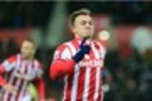 stoke city boss not happy with swiss role in xherdan shaqiri blow