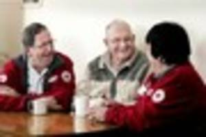 lonely pool man praises red cross volunteers who brought him out...