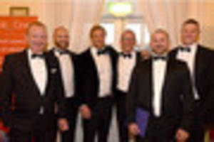 rugby stars turn out for black tie dinner