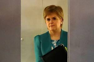 nicola sturgeon under fire after 'sneaking out bad news' in final hours before easter break