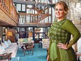 girl about town: adele's £4m mansion in... east grinstead