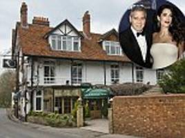 george and amal clooney paid for couple's three-star hotel
