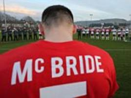 derry city pay tribute to club captain ryan mcbride