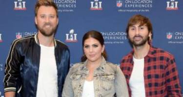 lady antebellum at the acm awards 2017