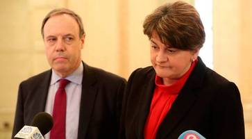 arlene foster: first meeting of party leaders since stormont collapse 'constructive'