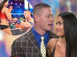 john cena proposed to nikki bella when she was doped