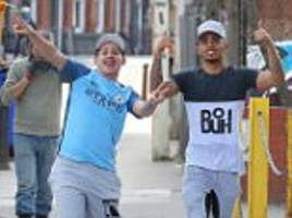 man city boost as gabriel jesus walks without crutches