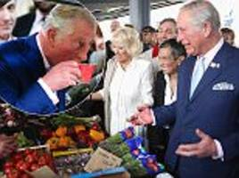 prince charles and camilla sample italian food in florence