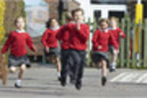 more than 4,000 youngsters in gloucestershire to run mile a day...