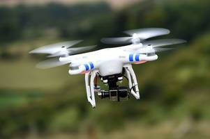 tenfold surge in drone incidents logged by cambridgeshire police