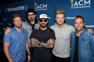 backstreet boys create history with florida georgia line; perform together at academy of country music awards