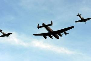 iconic wartime aircraft due to grace skies of swansea bay