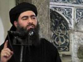 isis used '17 suicide bombs to help leader escape mosul'