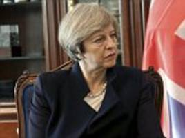 may denies selling britain's principles on human rights
