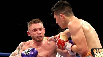 frampton and santa cruz will not complete trilogy in belfast this summer