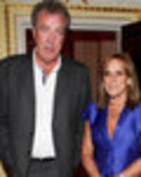 jeremy clarkson's ex-wife spotted with hot new guy on caribbean beach