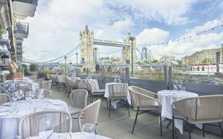 working lunch review: sightseeing and set menus at le pont de la tour