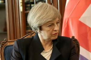 theresa may rules out going to war with spain over gibraltar