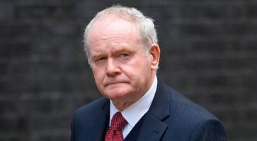 martin mcguinness cameo role in the peacemaker movie