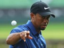 tiger woods joined the greats but it's all over