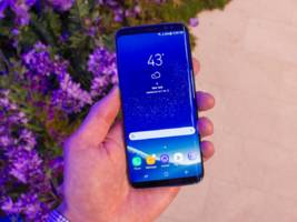 the battery life on the samsung galaxy s8+ is better than the iphone 7