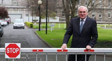a border poll is the last thing we need, warns former taoiseach bertie ahern