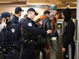 paris police given powers to search metro passengers' bags