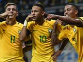 brazil usurp argentina to top fifa world rankings
