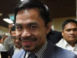 manny pacquiao to fight jeff horn ahead of amir khan