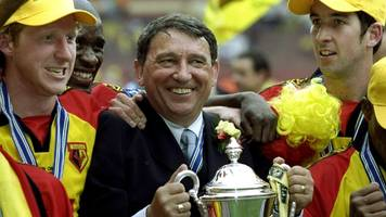 graham taylor: watford to play aston villa in memorial match for former manager