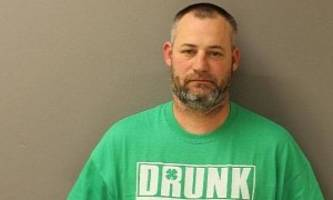 guy wears funny shirt all the way to a dui conviction, irony is strong