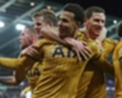 tottenham vs watford: tv channel, stream, kick-off time, odds & match preview