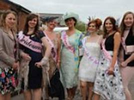 aintree racegoers dress to the nines for ladies day