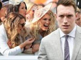 manchester united news: phil jones enjoys day at the races