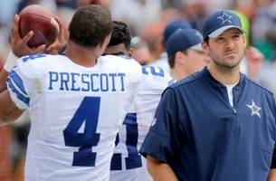 tony romo opens up about his relationship with dak prescott