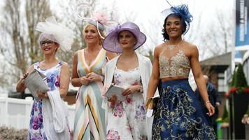 ladies day: thousands flock to aintree ahead of grand national
