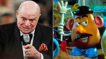 don rickles dies: tributes paid to voice of mr potato head