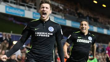 brighton win at qpr to return to top of championship